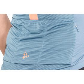 Craft Hale Glow Fietsshirt korte mouwen Dames, shore/boost